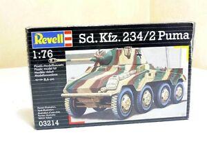Revell 03214 Carro Armato Radpanzer Puma Sd. Auto. 234/2 Kit 1:72 Conf. Orig.