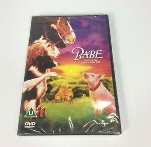 Babe A Little Pig Goes A Long Way DVD 2002 New Sealed