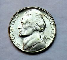 1943-S silver Jefferson Nickel__BU / MS__part of whole set listed