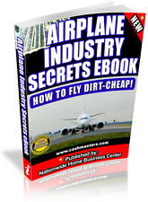 AIRLANE INDUSTRY SECRETS EBOOK! PDF EBOOK FREE SHIPPING RESALE RIGHTS