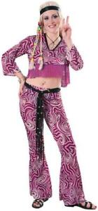 Psychedelia Hippie Adult Costume Sexy 70's or 60's Psychedelic Womans Ladies