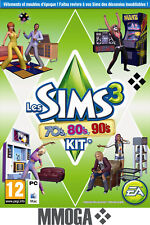 Les Sims 3 70's, 80's, 90's Kit d'extension Addon PC Origin Download Code - FR
