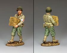 King and Country ww2 u.s. Supplies Medic D DAY dd246