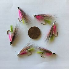 Little Rainbow Trout Fishing Fly Size 10 ~ Six (6) Fishing Flies