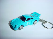HOT 3D PORSCHE 934.5 Turbo RSR CUSTOM KEYCHAIN keyring key racing blue finish