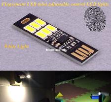 MINI Tocco Interruttore USB Mobile Potenza Campeggio luce notturna LED YV