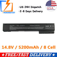 New 8 Cell Battery For HP EliteBook 8560w 8570w 8760w 8770w Mobile Workstation