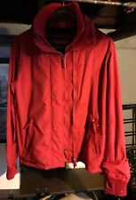 Superdry Japan Original Windcheater Jacket Full Double Zippers Red XL
