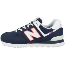 New balance ml 574 SOP zapatos Men calcetines de tiempo libre cortos Navy White ml574sop