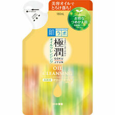 Roto Hada labo Gokujyun Oil cleansing 180mL Make up Remover Refill From Japan