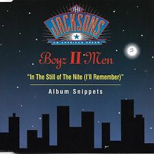 In The Still Of The Nite [Single] by Boyz ll Men (Cd 1992) [3 trk]