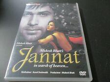 """DVD """"JANNAT"""" film Hindi Bollywood de Kunal DESHMUKH"""