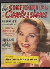 Confidential Confessions Magazine May 1959  Delinquents on a Rampage