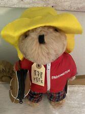 New listing 1975 Paddington Bear w/Tags/clothes/golf/bag/Peru to London England/Excellent!