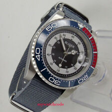 40mm bliger gray dial caremic sapphire crystal automatic movement mens watch 123