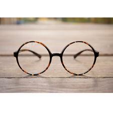 1920s Vintage oliver retro eyeglasses 57R30 Leopard frames kpop peoples findhoon