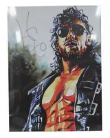 Autographed Kenny Omega 18 x 24 Print, NJPW Schamberger Starrcast All In