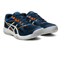 Asics Mens Gel-Upcourt 4 Indoor Court Shoes Blue Sports Squash Breathable