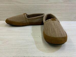 L.B. Evans Hideaway Banyon Slippers, Men's Size 11 M, Brown MSRP $39.95