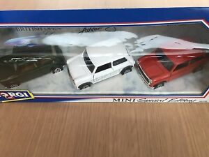 CORGI MINI SPECIAL EDITIONS 3 MODEL SET SCALE 1:36 93735 Boxed