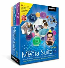 NEW CyberLink Media Suite 14 Ultra Multimedia Software Suite Windows Retail