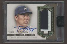 2019 Topps Dynasty Masahiro Tanaka Signed AUTO Patch 8/10 New York Yankees