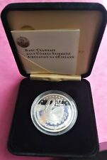 IRELAND  2004  €10  STERLING  SILVER  CELTIC  SWAN  PROOF  COIN