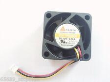 Y.S.TECH FD124020EB DC12V 0.12A  40x40x20mm 3Pin Cooling FAN