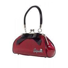 Sourpuss Super Floozy Red Bow Purse Bag Punk Goth Tattoo 50S Retro Handbag