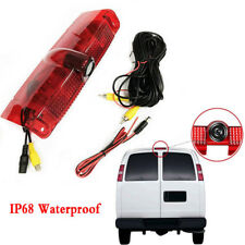 120° View Car Brake Light IR Backup Camera Waterproof NTSC System for Chevrolet