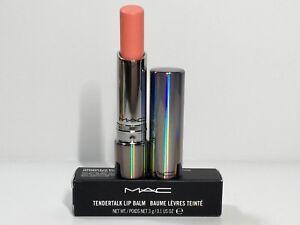MAC Lipstick Tendertalk Lip Balm in Pretty Me up (Coral Nude) New In Box