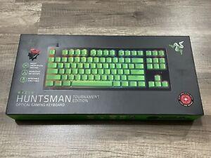 Razer Huntsman Tournament Edition Gaming Keyboard Green Keycaps
