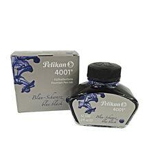 Pelikan 62.5ml Bottle 4001 Fountain Pen Blue Black Ink, Made in Germany
