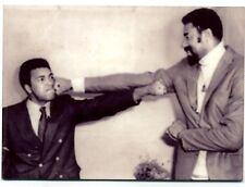 Muhammad Ali with Wilt Chamberlain  METAL trading card - Boxing -  Basketball
