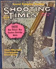 Vintage Magazine SHOOTING TIMES, February 1965 !!! RUGER Model 10-22 CARBINE !!!