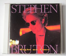 STEPHEN BRUTON............RIGHT ON TIME..............CD