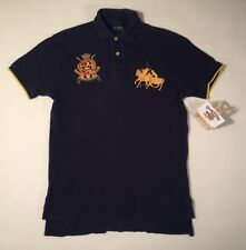 Polo Ralph Lauren Country Riders Jockey Club bleu marine Big Pony #2 polo shirt small