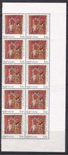Portugal - 1975 - Yvert 1261a - MNH Fosforerncente - 10 Sellos - Valor 700,00 €