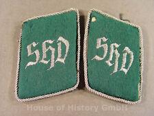 78663, Paar Kragenspiegel für Führer des SHD (Sicherheits und Hilfsdienst)