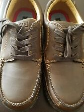 TODDLER TOMMY HILFIGER SIZE 3.5 BROWN OXFORD DRESS SHOES