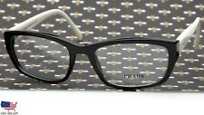 "PRADA VPR 18O 7S3-1O1 BLACK WHITE EYEGLASSES GLASSES FRAME 54-18-135mm ""READ"""