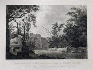 VIEW PETTAH GATEWAY BANGALORE, MYSORE, INDIA by Robert Home, Rare 1794 Engraving