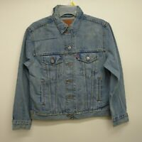 Levis Size Small Womens 29944 Light Denim Vintage Faded Trucker Jean Jacket New