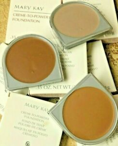 MARY KAY CREME TO POWDER FOUNDATION You choose shade D SHAPE New in box