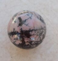 Rhodonite Sphere Home or Office Decor or Collectible Ball 38mm 3798