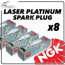 8X NGK SPARK PLUGS PART NUMBER pfr7z-tg STOCK NO. 5768 NUOVO PLATINO sparkplugs