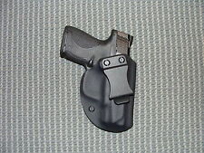 S&W SHIELD No Safety  KYDEX HOLSTER  Black Right Hand IWB 9mm 40sw