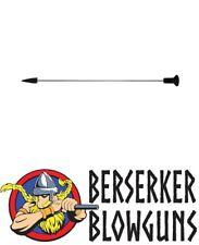 """50 - .40 cal Broadhead 5"""" Pro-Length Blowgun Hunting Darts by Berserker Blowguns"""