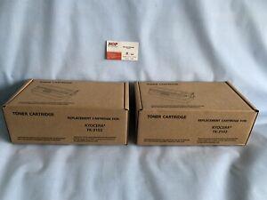 2 pc TK-3102 Kyocera Mita 1T02MSOUSO BLACK Toner FS-2100 M3040i M3540i FS-2100DN