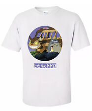 "TOTORO "" CAT BUS' Anime T Shirt 'All Sizes """